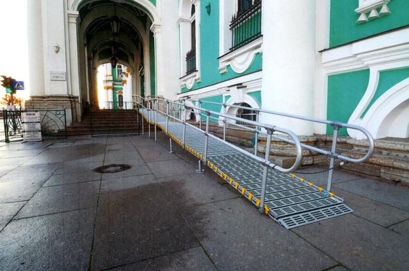 Roll-A-Ramp Hermitage St. Petersburg